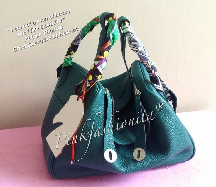 AUTHENTIC BNIB HERMES LINDY 34 MALACHITE CLEMENCE PHW