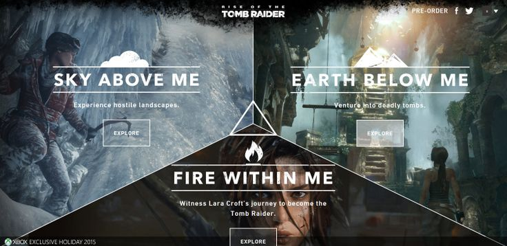 The Crystal Dynamics team have launched two new online experiences for Tomb Raider fans to explore ahead of Rise of the Tomb Raider's Xbox release next month.  Learn more - http://archaeologyoftombraider.com/2015/10/23/rise-of-the-tomb-raider-instagram-online-experiences/