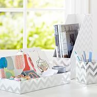 Desk Accessories #wicker #bedroom #furniture http://bedrooms.remmont.com/desk-accessories-wicker-bedroom-furniture/  #teen bedroom decorations # Desk Accessories Printed Desk Accessories – Metallic Silver Foil Chevron For the best-dressed desk, deck out your workspace with this trio of smart and stylish storage [...]