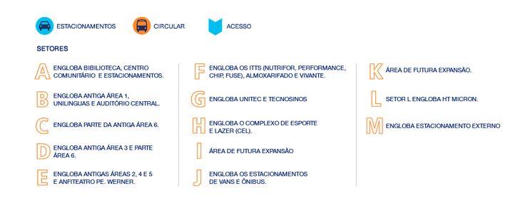 Unisinos - Localize-se mapa Campus São Leopoldo