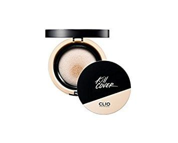 "@soompi ""6 Products Hailed By Korean Makeup Artists As Their Holy Grail"" featuring the @clubcliousa #Clio Kill Cover Foundation collection! #kbeauty #clubclio"