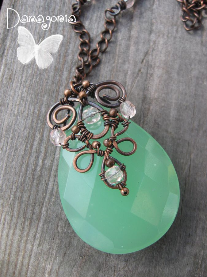 Wire Wrapped Briolette