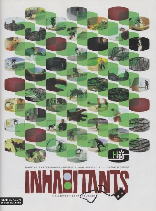Habitat Skateboards - Inhabitants Ad (2007)