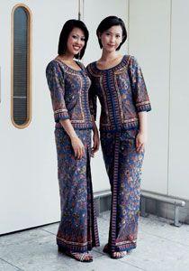 Singapore Airlines uniform 1968 Balmain
