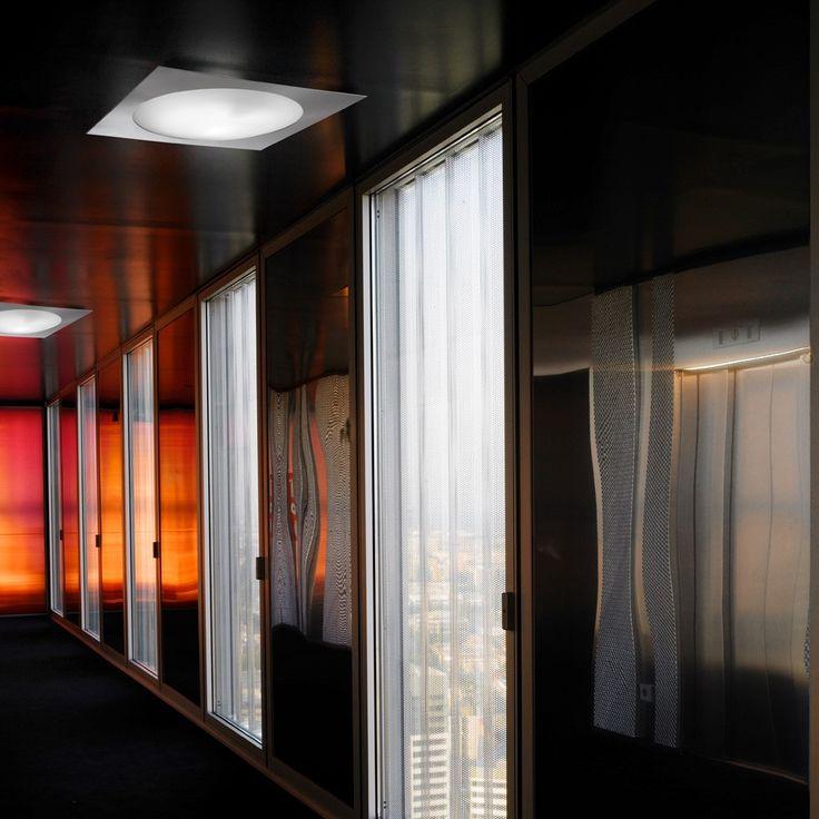 Ska Square ceiling mounted light by LEDS C4, Spain « Lighthouse Nelson www.nelsonlighting.co.nz