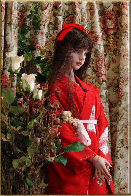 koitsukihime dool:Angelic Maiden(concept dool )#type Haniel-bis 赤の襦袢