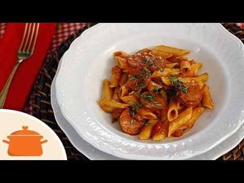 Macarrão de Uma Panela || Cozinha no Próprio Molho - YouTube