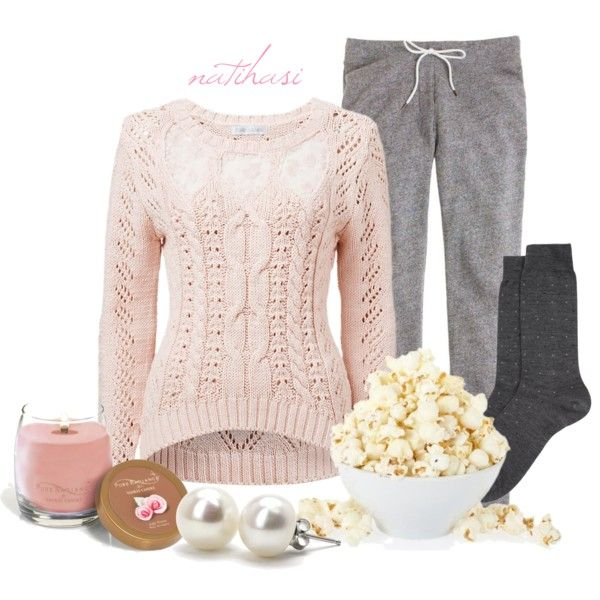 """Movie Girls Night Outfit"" by natihasi on Polyvore"
