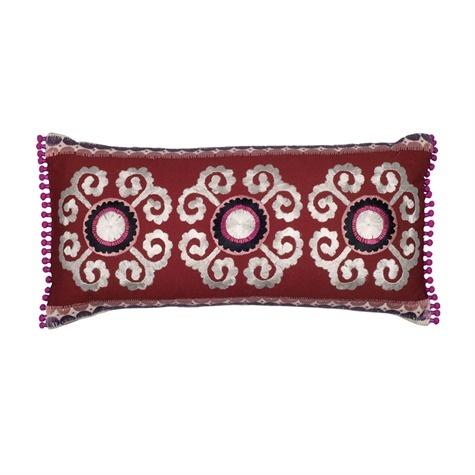 Samarkand Suzani Cushion Cover