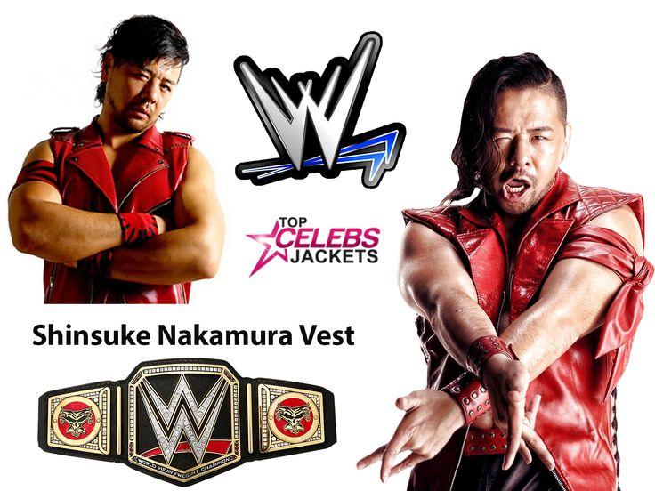 Shinsuke Nakamura Vest