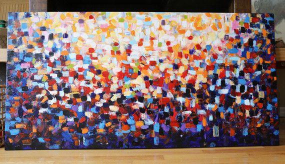 Abstract paintingOriginal PaintingAcrylic Painting by artbyoak1