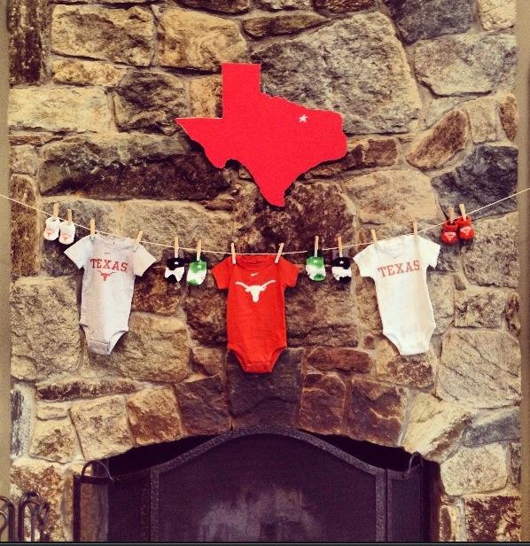 Texas baby shower!! Holy moly I love!