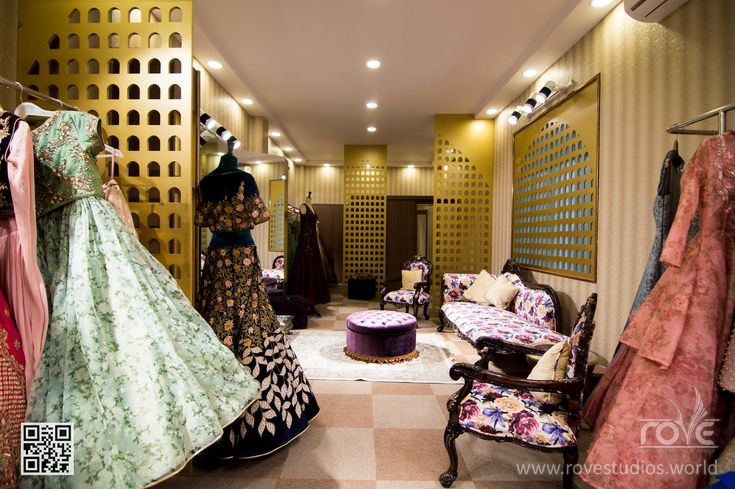 Fashion retail interior