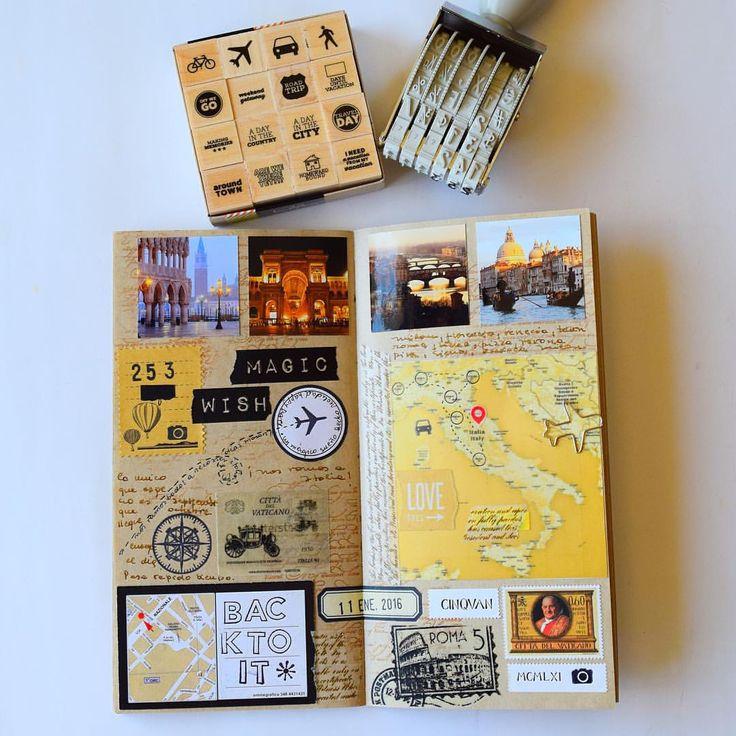 Un beau carnet de voyage !✈