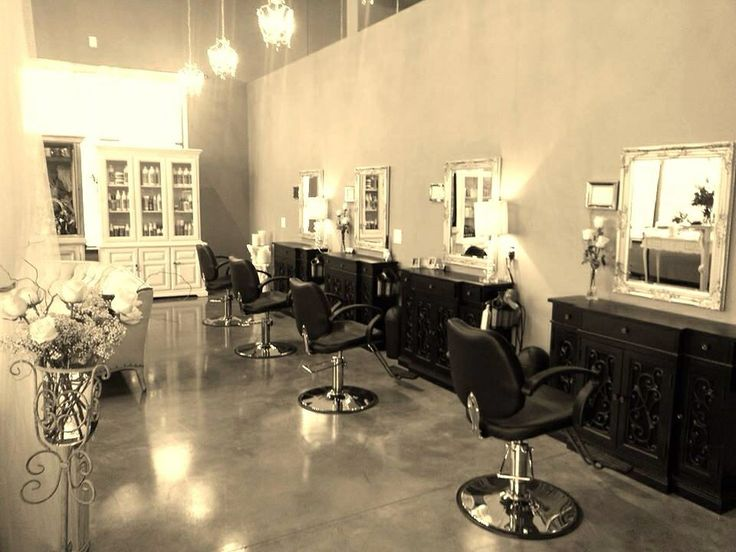 Shabby chic salon