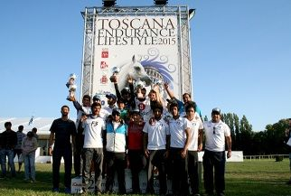 Toscana Endurance Lifestyle: dominano gli Emirati Arabi Uniti