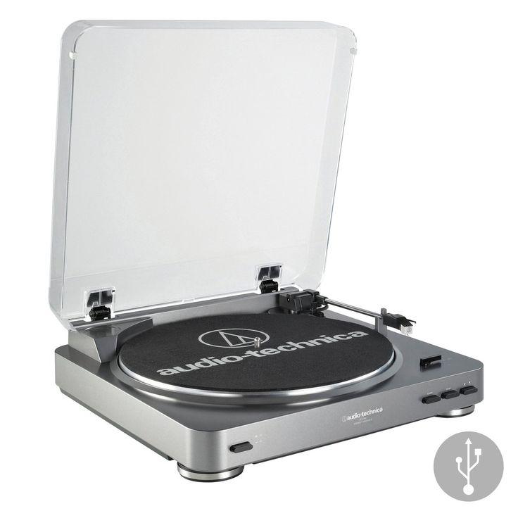 Audio-Technica: AT-LP60-USB Turntable – TurntableLab.com