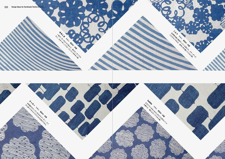 """Inside page of """"Design Ideas for Handmade Textile & Fabric"""" #Pattern #Textile #Fabric"""