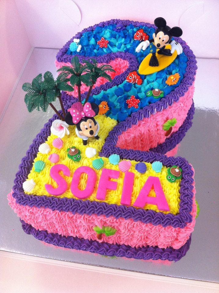 kids number cakes - Google Search