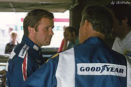 Mark Donohue    (1937-1975)USA  Disparu le 19 août 1975 lors des essais pour le Grand Prix automobilie d'Autriche