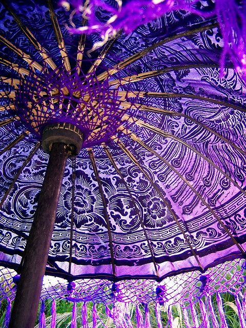 Balinese parasol | © Sallyfrancis on Flickr - Photo Sharing!