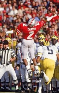 WR Cris Carter    Notes: 1 of 4 and first OSU WR to have 1,000 yds receiving.