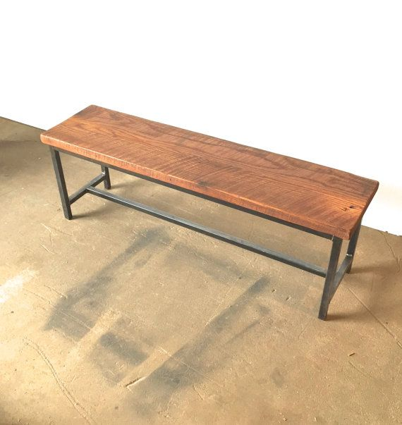 reclaimed wood bench etsy 2