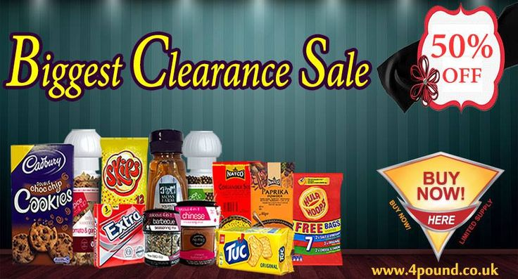 Biggest Clearance Sale at 4pound.co.uk. Order any product Get 50% Off http://www.4pound.co.uk/allproduct