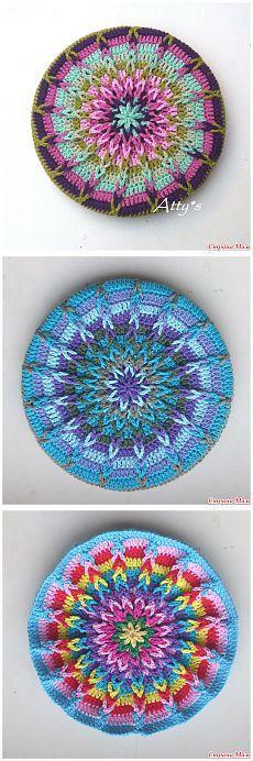 Вяжем коврики крючком - Вязание - Страна Мам