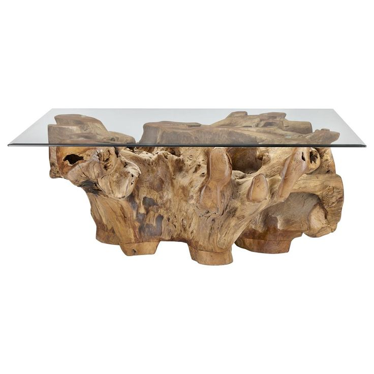 Atelier - World traveler - Teak root coffee table/COFFEE TABLES/COFFEE TABLES & SIDE TABLES/SHOP BY PRODUCT/ATELIER BOUCLAIR|Bouclair.com