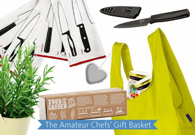 The Amateur Chefs' Gift Basket / The Knot