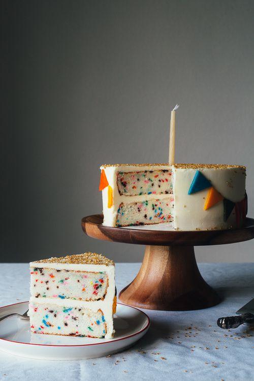 perfect funfetti cake