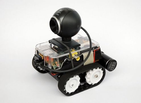 PiBot-B – Raspberry Pi Robot   Check out http://arduinohq.com  for cool new arduino stuff!