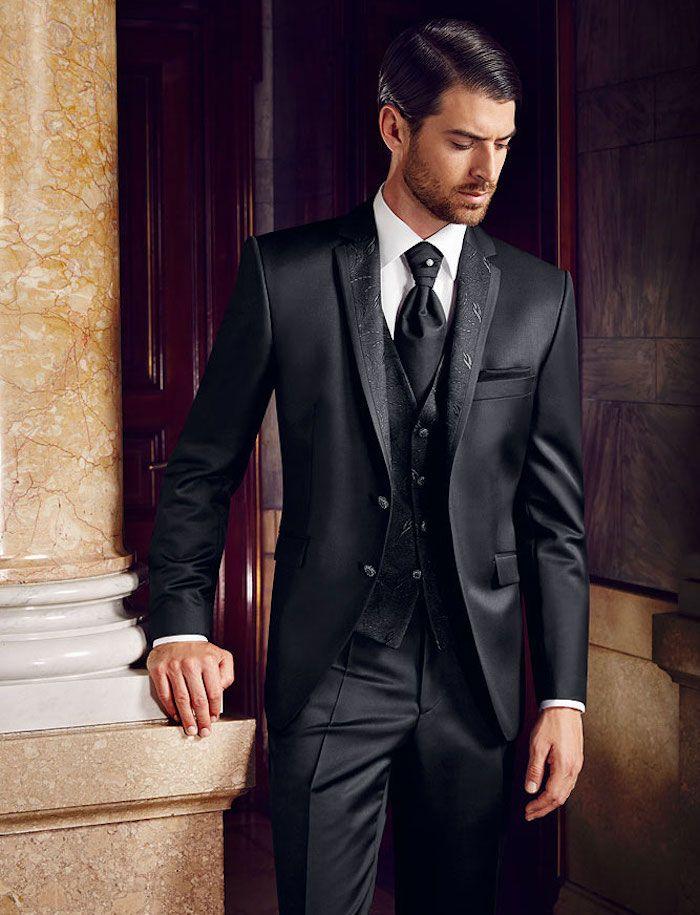 costume 3 pi ces homme tenue de salon en trois actes mode homme pinterest smokings homme. Black Bedroom Furniture Sets. Home Design Ideas