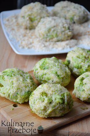 kotlety z kaszy jaglanej i brokułu