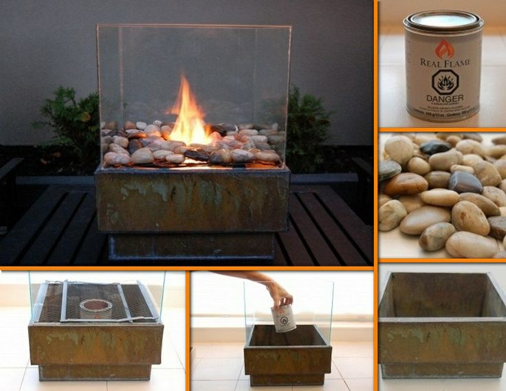 Want a fire pit but don't like the commercial choices? Why not make your own for just $25? Learn how this example is made by viewing the full album at http://theownerbuildernetwork.co/wb7l Would this look good in your outdoor space?