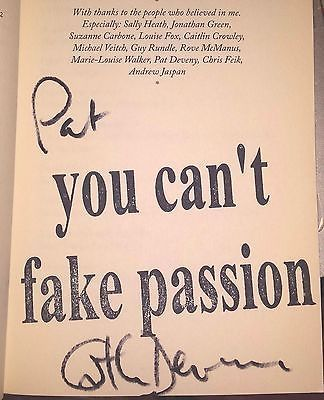 SIGNED COPY! It's Not My Fault They Print Them Catherine Deveny Paperback 2007