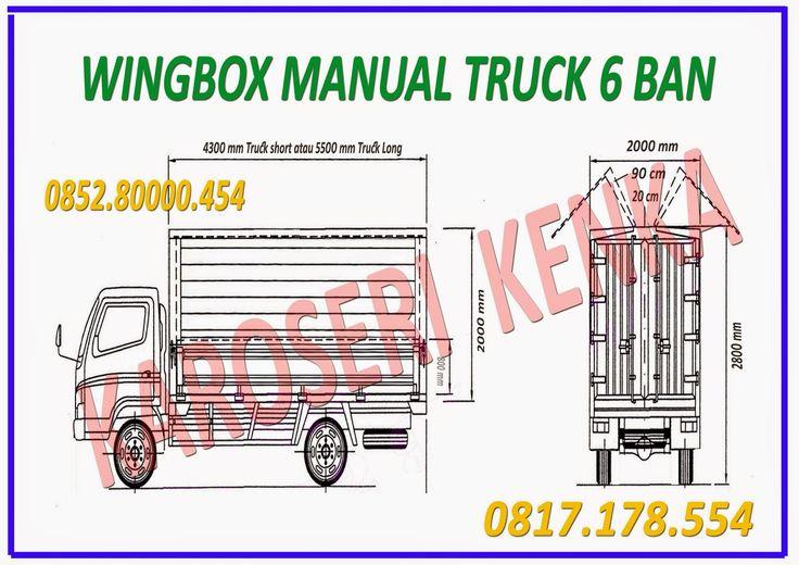 Karoseri TRUCK Wing Box >> KAROSERI KENKA