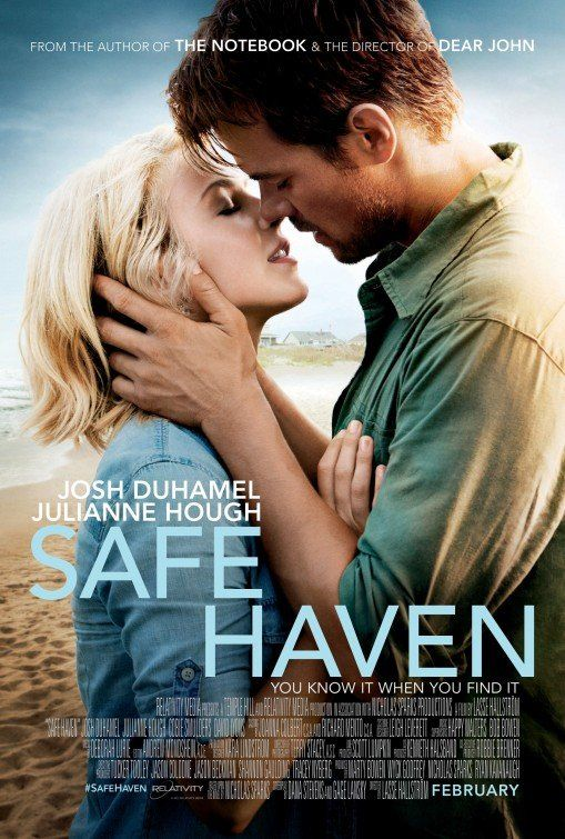 Safe Haven- Loved it! Best romantic movie I've seen in a long time!