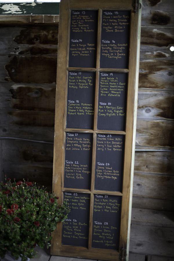 Chalkboard Wedding Table Plan #wedding Reception ... Wedding Ideas For  Brides, Grooms