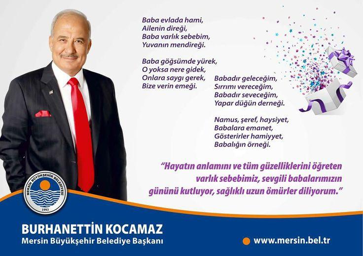 """Başkan Kocamaz """"Babalar Günü""""nü Kutladı http://www.yenisehirgundem.com/baskan-kocamaz-babalar-gununu-kutladi.html"""