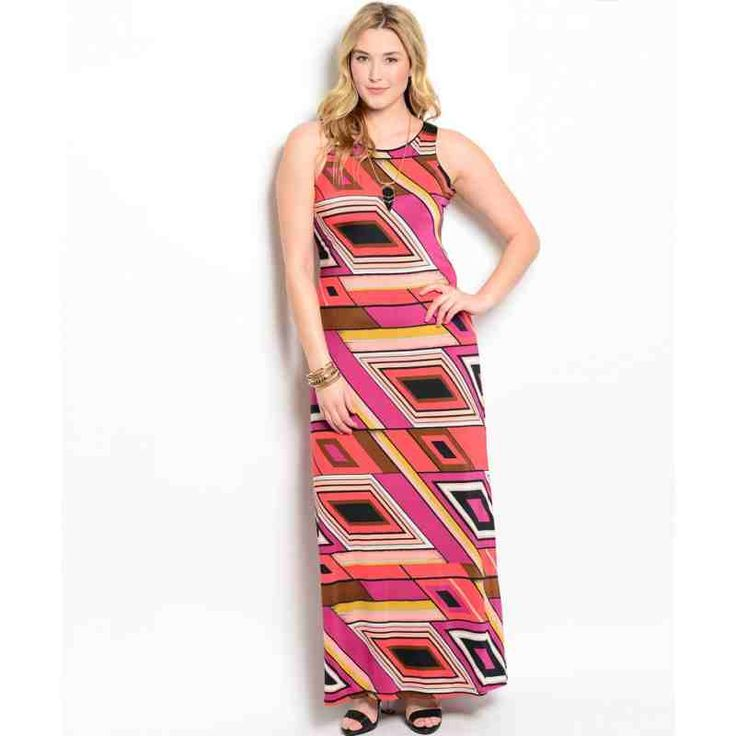 PRE-ORDER - PURPLE ORANGE PLUS SIZE DRESS $60.00 http://www.curvyclothing.com.au/index.php?route=product/product&path=95_101&product_id=8698&limit=100