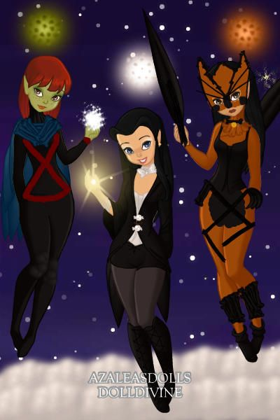Young Justice Miss Martian,Zatanna,Tigress (Season 2) ~ by ...