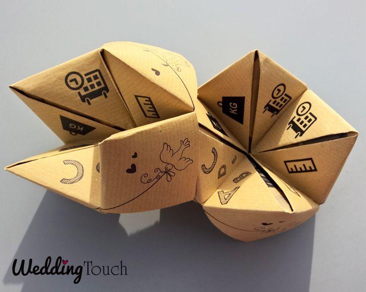 Faire-part naissance style cocotte papier kraft : Faire-part par weddingtouch