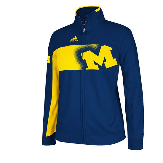 Adidas University of Michigan Football Jacket