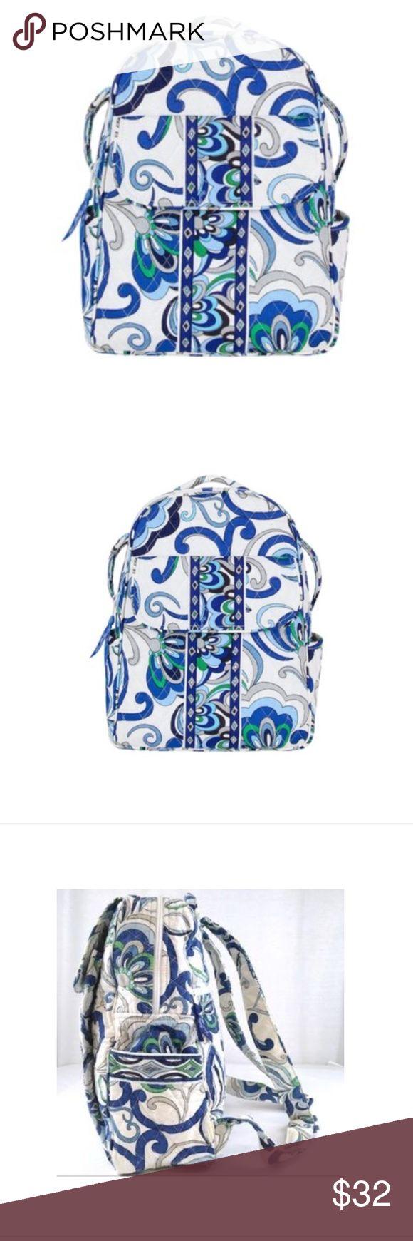 Spotted while shopping on Poshmark: Vera Bradley Mediterranean White backpack! #poshmark #fashion #shopping #style #Vera Bradley #Handbags