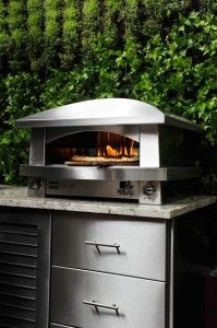 Contemporary  outdoor pizza oven