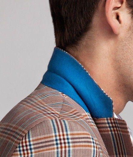 A Blue-Collar Worker- Scabal SS 2013