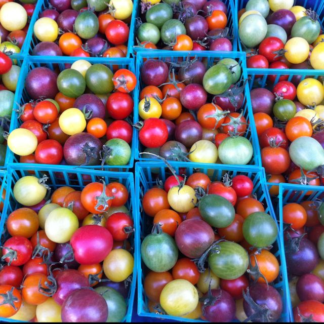 Rainbow Cherry Tomatoes from The Santa Monica Farmer's Market