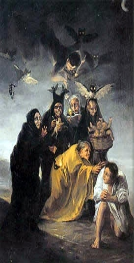 Escena de exorcismo- Francisco Goya
